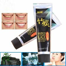 2017 Bamboo Charcoal All-Purpose Teeth Brightening Black Toothpaste Care j~
