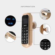 Smallest World's Mini Dual Band Unlocked Mobile Cell Phone Bluetooth Headset GSM