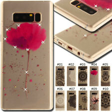 For Samsung TPU Rhinestone Case Rubber Soft Cover Bling Crystal Protective Skin