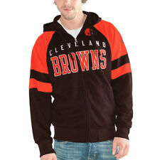 Hands High Cleveland Browns Brown Hands High Lifestyle League Full-Zip Hoodie
