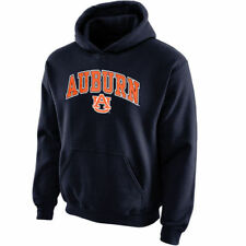 Auburn Tigers Youth Navy Blue Midsized Pullover Hoodie - College