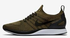 Nike AIR ZOOM MARIAH FLYKNIT RACER MEN'S SHOE Black/Moss- Size US 8,8.5,9 Or 9.5