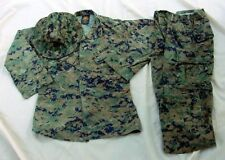 USMC Woodland Marpat Trouser, Wld Blouse S-R & Field Cover