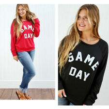 Hooded Long-Sleeved Sexy Printing Tops Women's Sweatshirt Letter Sweater New