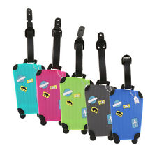 Travel Holiday Luggage Baggage Tags Label Name Address ID Suitcases Bag Tag