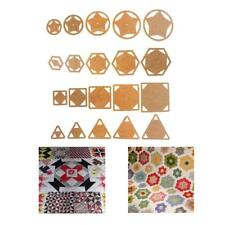 5pcs Handmade Mixed Acrylic Quilt Templates DIY Quilting Supplies Assorted Sizes