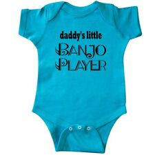 Inktastic Banjo Player (Daddys Little) Infant Creeper Future Daddys Little Music