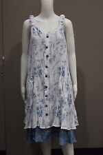 New Missy Q by FILO Floral Print with Pocket Tunic Dress Size 8 10 12 14 16 18
