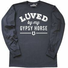 Inktastic Gypsy Horse Lover Gift Idea Long Sleeve T-Shirt Horses Animals Owner