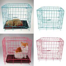 Metal Steel Foldable Folding Dog Cage Pet Puppy Cat Crate Puppy Kennel House