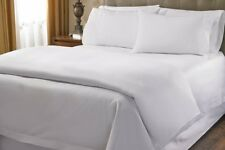 Australian Bedding Collection-1000 Thread Count 100% Egyptian Cotton White Solid
