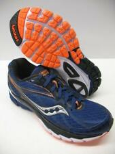 New Saucony Ride 8 Performance Running Training Shoes Blue Orange Boys Mens