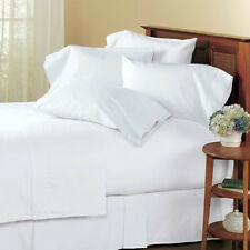 Brand New Super Hotel Collection White Solid 1000TC 100%Cotton US Bedding in All