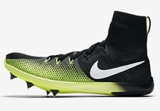 Nike ZOOM VICTORY-4 XC MEN'S TRACK SPIKE Black/Volt- Size US 12, 12.5 Or 13