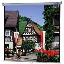 """Da-Lite Model B Manual Wall and Ceiling Projection Screen - 60"""" x 60"""" - Matte Wh"""