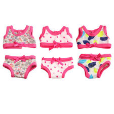 """Cute Swimsuit Clothes for 18"""" American Girl Our Generation Zapf Baby Born Dolls"""