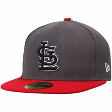 New Era St. Louis Cardinals Charcoal/Red Shader Melt 2 59FIFTY Fitted Hat - MLB