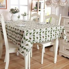New Fashion Linen Cotton Material Pastoral Style Table Cloth