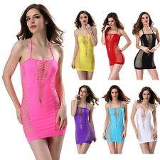 Mesh Fancy Dress Sexy women Lace Lingerie Clothes intimate Lingere sleep wear