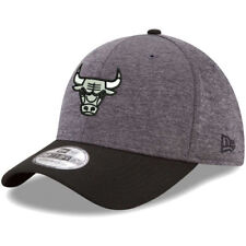 New Era Chicago Bulls Heathered Gray/Black 39THIRTY Flex Hat - NBA