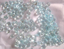 Natural Sky Blue Topaz Calibrated Size Round Cut Top Quality Loose Gemstone Lot