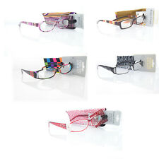 New - Foster Grant Reading Glasses With Soft Case - +1.25 to +2.75