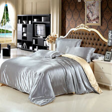 Imitated Silk Bedding Set Bed linen set Soft Silky Bedding Full Queen King Size