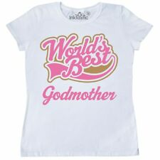 Inktastic Godmother (Worlds Best) Women's T-Shirt Gift Worlds Best Greatest Cute