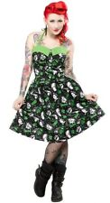 SOURPUSS - CLASSIC HORROR MOVIE MONSTERS HALTER DRESS *NEW* / PINUP, ROCKABILLY