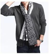 Men V Neck New Fashion Button Closure Large Size Cardigan Sweater R373