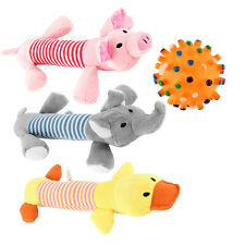 Funny Pet Puppy Chew Squeaker Squeaky Plush Sound Doll For Dog Play Toy js