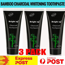 Pro 100g Bamboo Charcoal All-Purpose Teeth Whitening Clean Black Toothpaste OZ