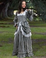 MEDIEVAL RENAISSANCE Beauty Of Stripe Gown