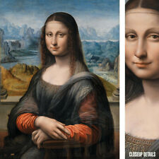 "30W""x40H"" MONA LISA GIOCONDA (Restored) by LEONARDO DA VINCI - CHOICES of CANVAS"