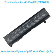 Laptop Battery fr Toshiba Satellite A105 A135 PA3465U-1BRS PABAS069 PA3451U-1BRS