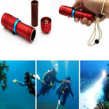 Ultra Bright Waterproof Power Bank Outdoor Portable Diving LED Flashlight