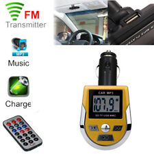 Wireless MP3 Player FM Transmitter Car Kit USB SD MMC TF LCD Remote Controller