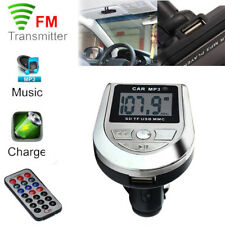 LCD Car Kit MP3 Player FM Transmitter Modulator SD TF Card Slot USB Flash Drive