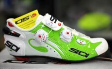 SIDI Wire Carbon Road Cycling Shoes Bike Shoes Green Fluo/White Size 39-44 EUR