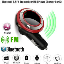 LED Handfree USB Charge MP3 Bluetooth Car Kit FM Transmitter Remote Controller