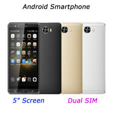 5 inch Smartphone Unlocked Android 6.0 Cell Smart Phone Quad Core Dual SIM 3G