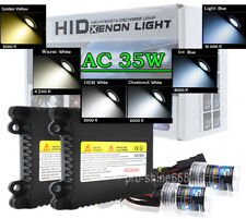 AC 35W HID Kit Bulbs All Sizes Colors H1 H7 H11 880 H4 9007 9004 H13 9005 9006