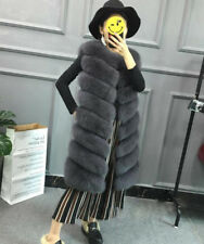 Ladies Faux Fur Jacket Outwear Warm Overcoat Women Winter Warm Coat Gilet