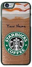 Starbucks Caramel Frappuccino Phone Cover Case For iPhone Samsung Moto etc Name