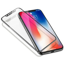 Full Cover Curved Clear Screen Protector Guard Film for iPhone X,Front+Back