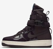 Nike SF AIR FORCE-1 SE PREMIUM FORCE WOMEN'S SHOE Port Wine-Size US 9, 9.5 Or 10
