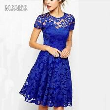 Elegant Lace Woman's Plus Size Dresses
