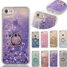 Glitter Sparkle Bling Shiny Soft TPU Stand Skin Case Cover For iPhone 7 6S Plus