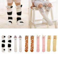 Baby Kids Toddler Cartoon Girls Knee High Socks Tights Leg Warmer Stockings