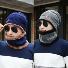 Unisex Women Men Hip-Hop Skull Winter Warm Cuff Wool Knitted Knit Ski Cap Hats